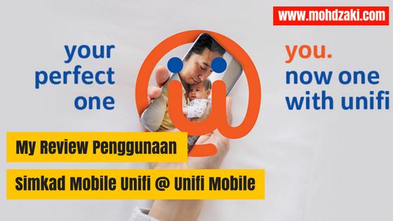 My Review Penggunaan Simkad Mobile Unifi @ Unifi Mobile