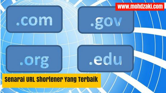 Senarai URL Shortener Yang Terbaik